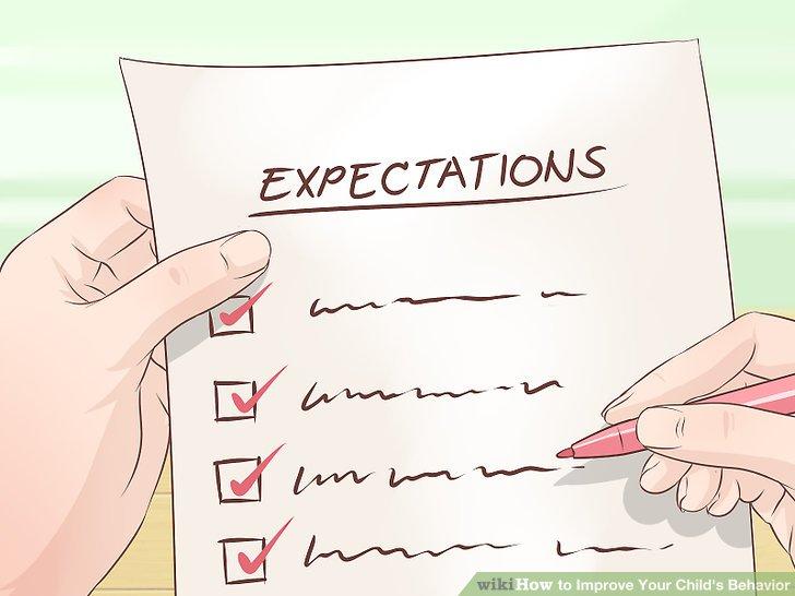 Halten Sie Ihre Erwartungen für jede Situation gleich.