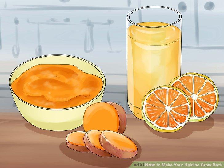 Holen Sie sich viel Vitamin A und Vitamin C.