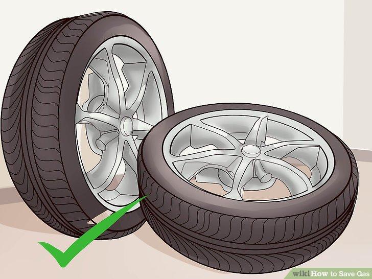 Halten Sie Ihre Reifen auf den richtigen Druck.