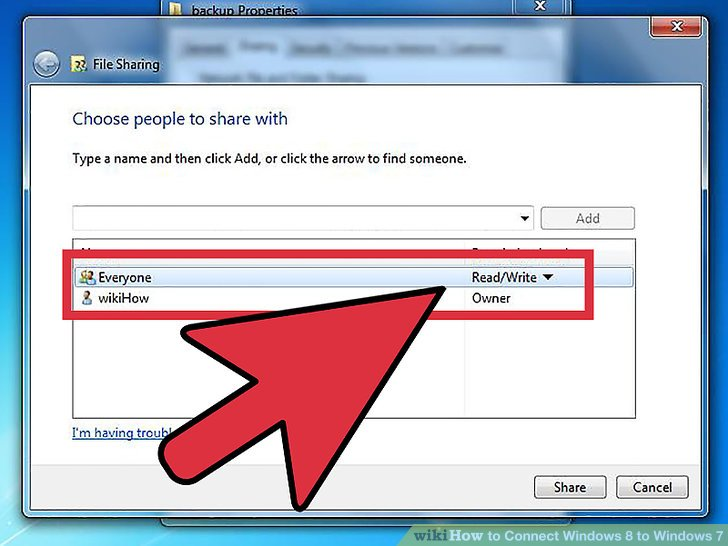 Repeat the process for any other folders you want to share.