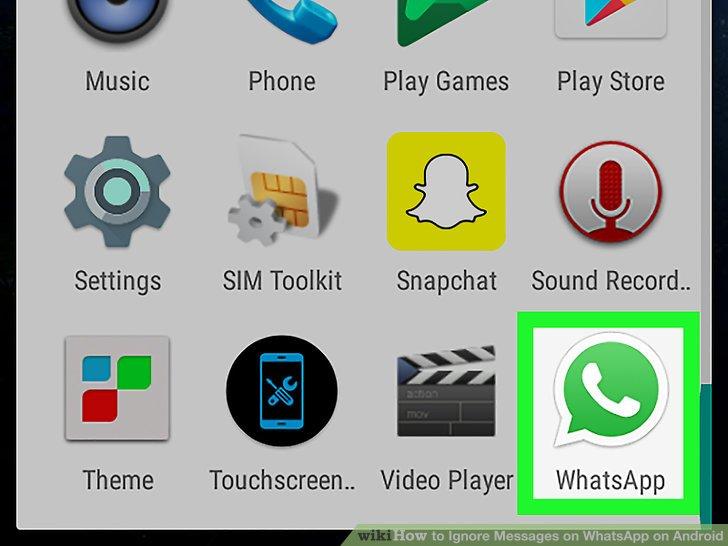 WhatsApp öffnen