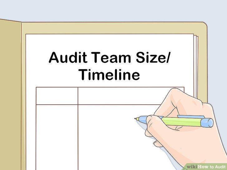 Bewerten Sie den Umfang des Audits.