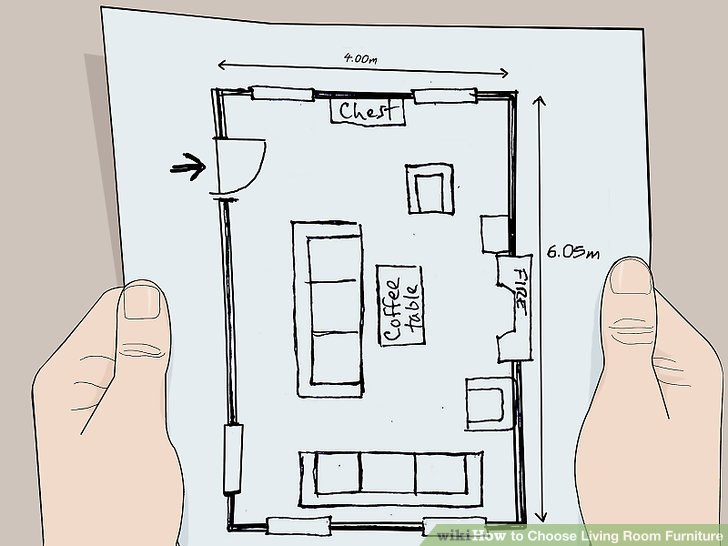 living room plan design how to set up a choose furniture 15 steps with pictures image titled step 2