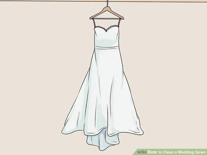 Wie ist es gemacht? - Wie zu Reinigen ein Hochzeitskleid