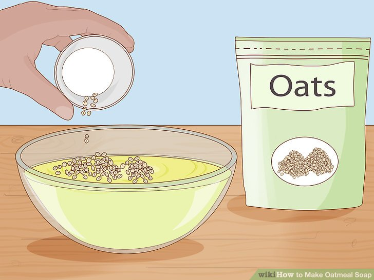 Add your oats.