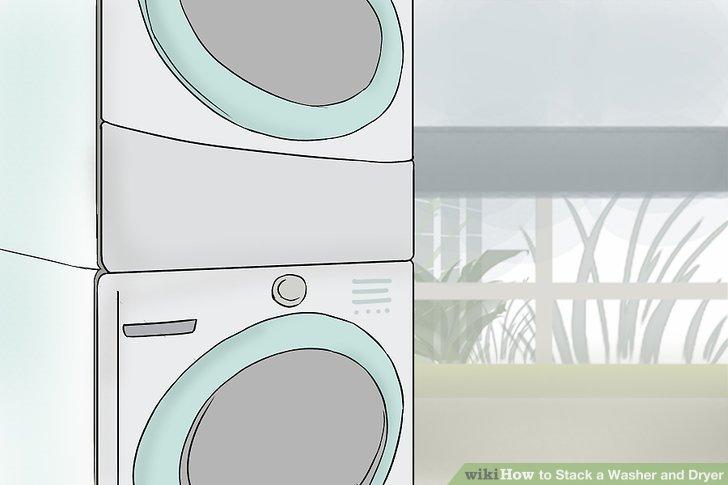Wie ist es gemacht wie stapel waschmaschine und trockner