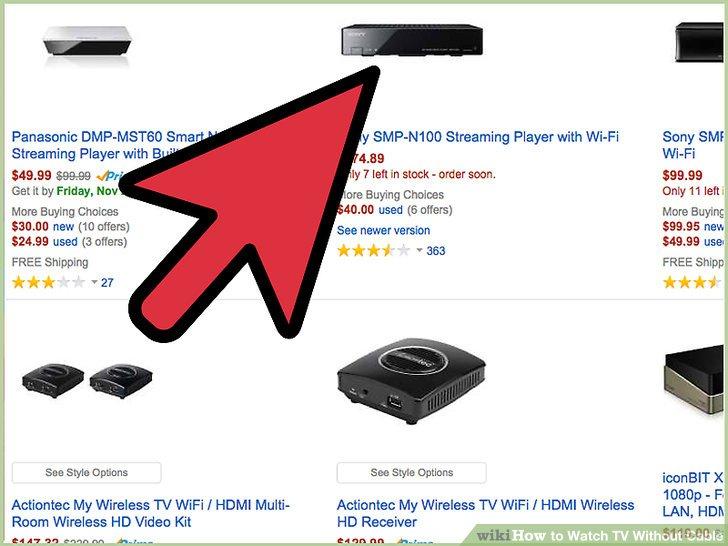 Investieren Sie in einen Streaming-fähigen DVD-Player oder Videoplayer.