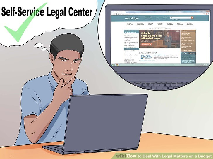 Determine if your court has a legal self-help center or pro se forms.