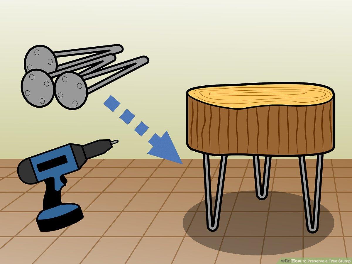 How To Preserve Bark On Wood Slab