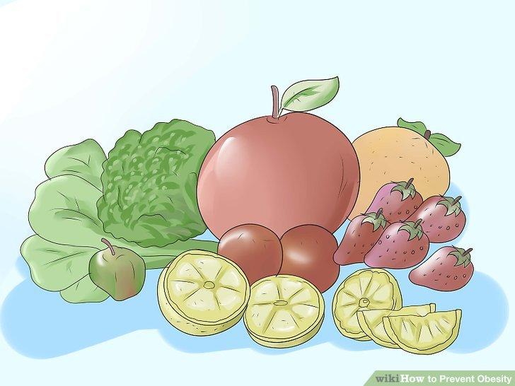 Auf Obst und Gemüse stapeln.