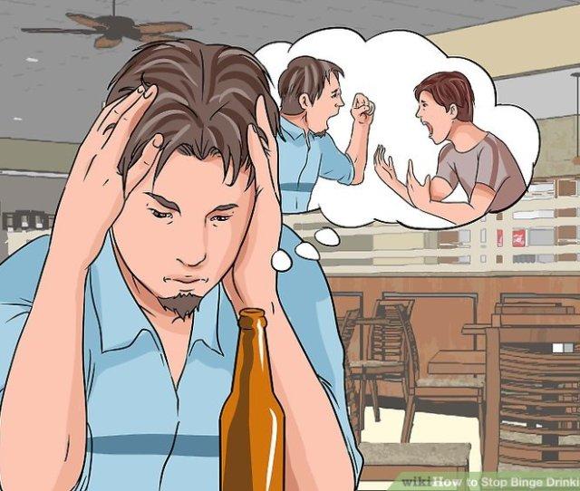 Image Titled Stop Binge Drinking Step 1