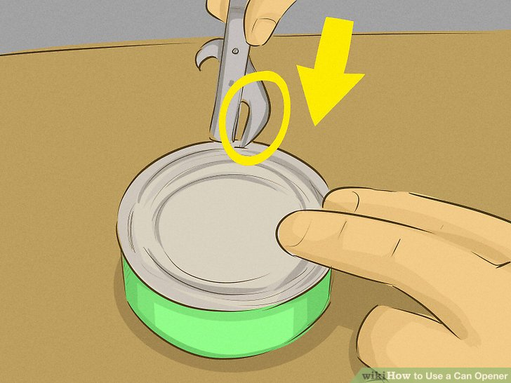 3 Ways to Use a Can Opener  wikiHow