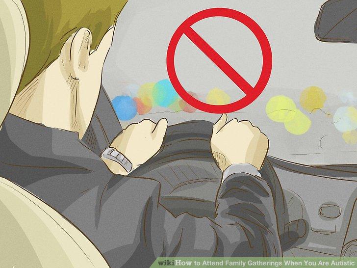 Vermeiden Sie das Fahren.