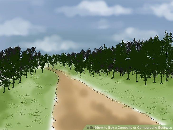 Betrachten Sie die Straße oder den Pfad, die zu Ihrem Campingplatz führen, als Ihre Lebensader.