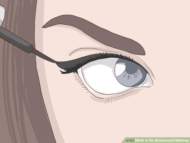 Verwenden Sie einen wasserfesten Eyeliner.
