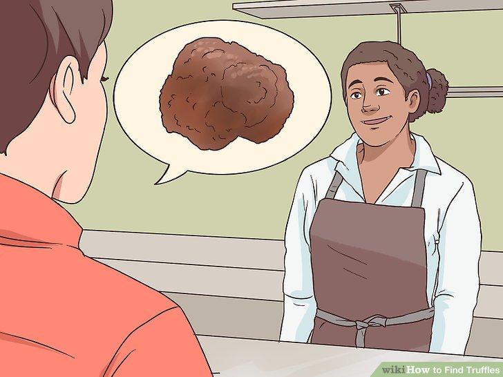 Verkaufen Sie Ihre Trüffel an gehobene Restaurants.