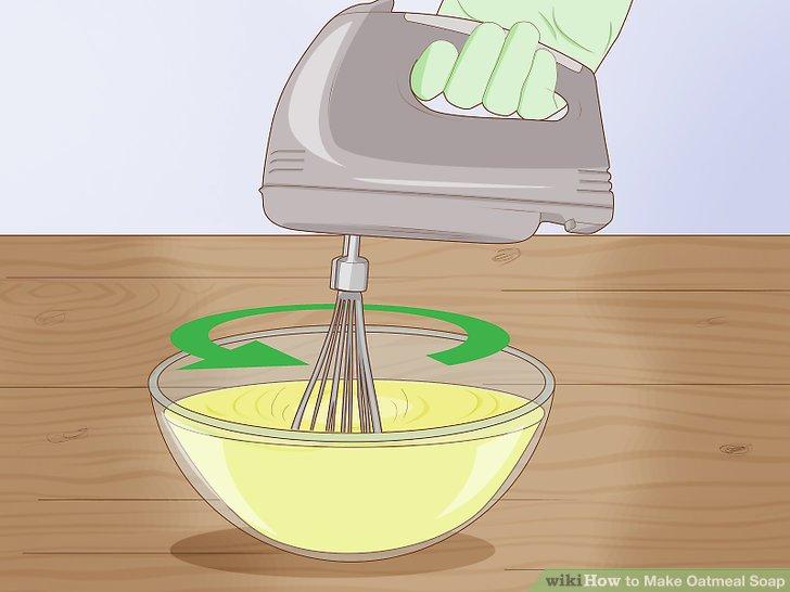Stir the mixture rapidly.