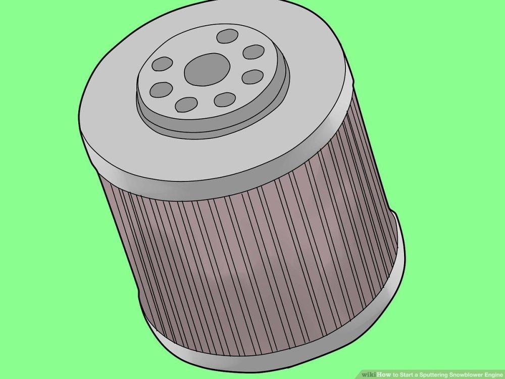 medium resolution of toro snowblower fuel filter