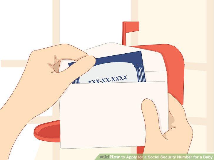 Warten Sie auf die SS-Karte in der Mail.