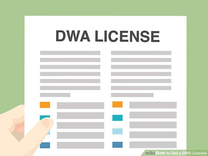 Erhalten Sie Ihre DWA-Lizenz vom Gemeinderat.