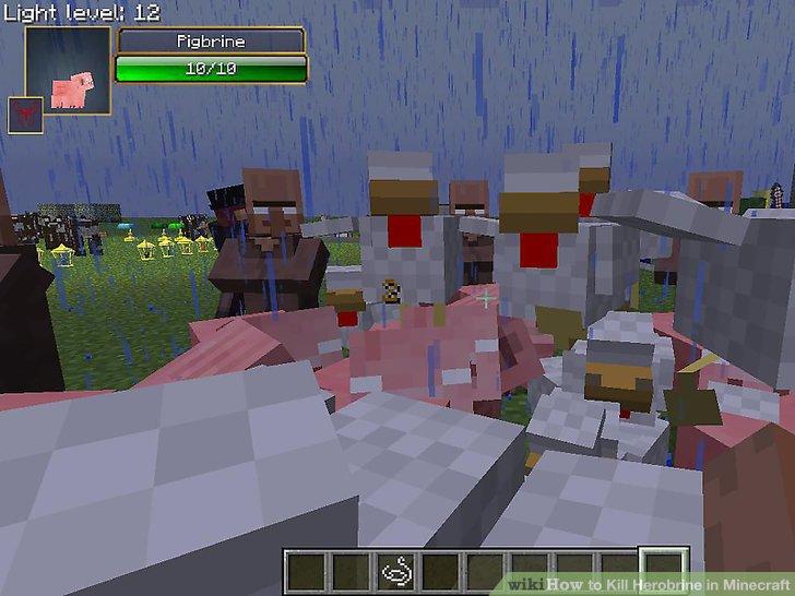 Wie Ist Es Gemacht Wie Zu Töten Herobrine In Minecraft - Minecraft herobrine spielen