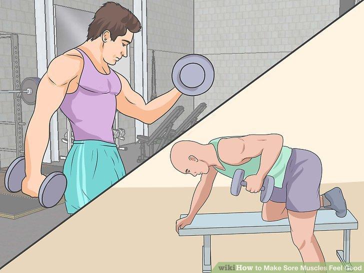 Wärmen Sie sich auf und erleichtern Sie sich Ihr Training.