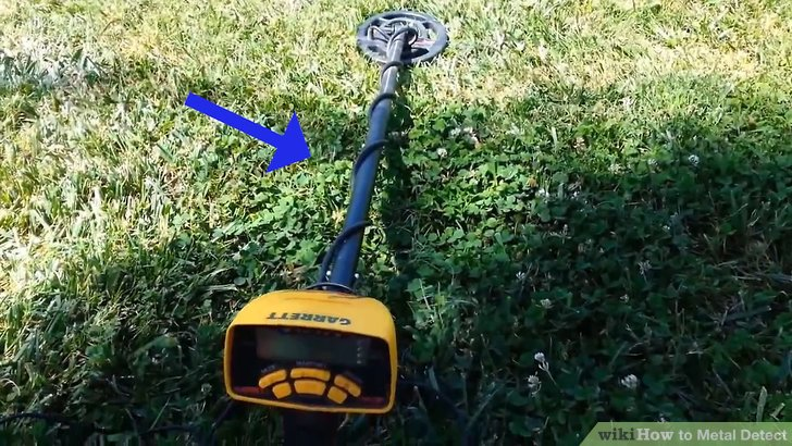 Purchase a metal detector.