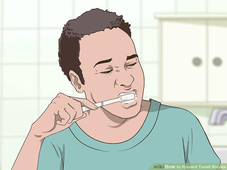 Putzen Sie regelmäßig Ihre Zähne.