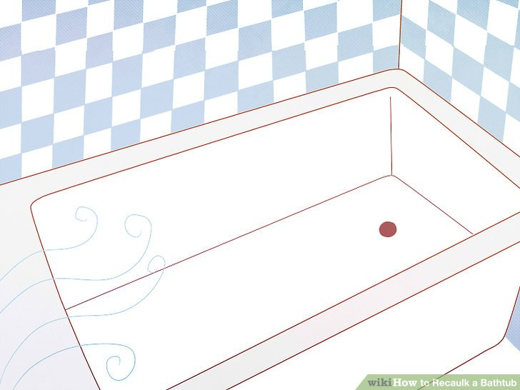 How to Recaulk a Bathtub 14 Steps with Pictures  wikiHow