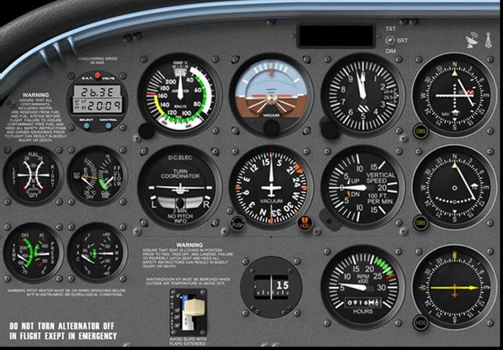 cessna 172 dashboard diagram iphone 4s parts how to fly a - wikihow