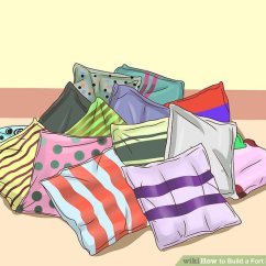 Cool Sofa Forts Sleeper Comparison 4 Ways To Build A Fort In Your Room - Wikihow