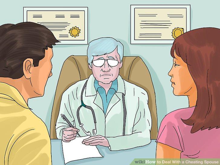 Holen Sie sich medizinische Tests.