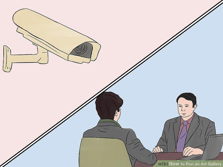 Galeriniz için iyi bir sigorta ve güvenlik sistemi edinin.
