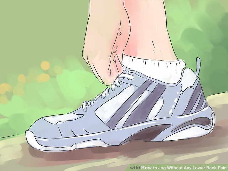Buy a motion-control shoe if you have low arches or flat feet.