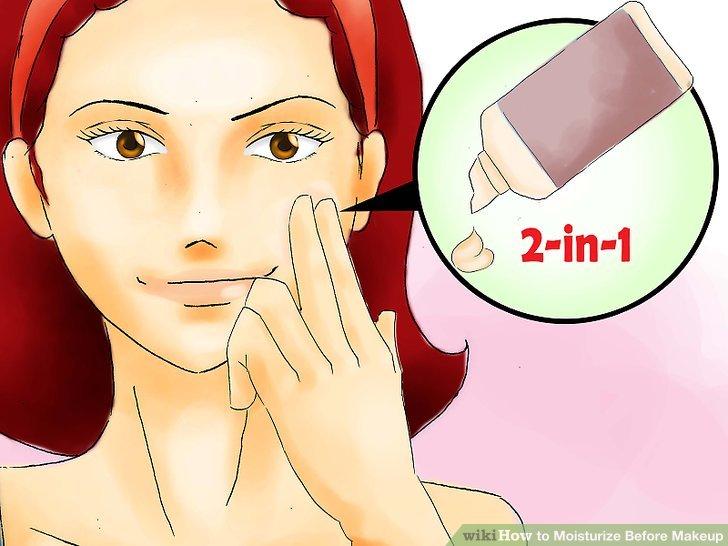 Try a moisturizing primer.