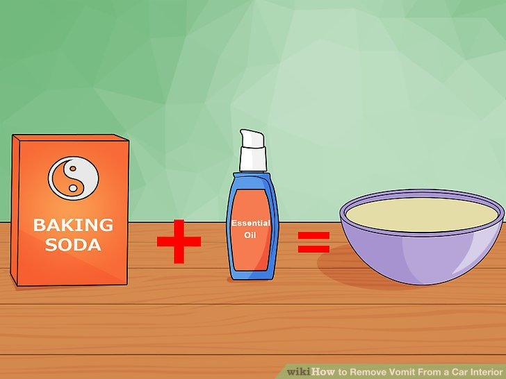Versuchen Sie es mit Backpulver und ätherischen Ölen, um den Geruch loszuwerden.