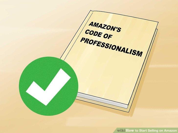 Befolgen Sie den Professionalisierungskodex von Amazon.