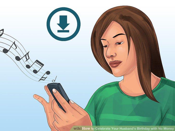 Erstellen Sie eine personalisierte Playlist für Ihren Ehemann.
