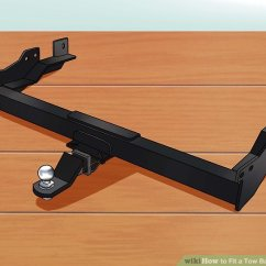 Car Tow Hitch Wiring Diagram 1998 Ez Go Gas Golf Cart How To Fit A Bar Your Car: 13 Steps (with Pictures)
