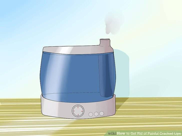 Verwenden Sie einen Luftbefeuchter zu Hause oder im Büro.
