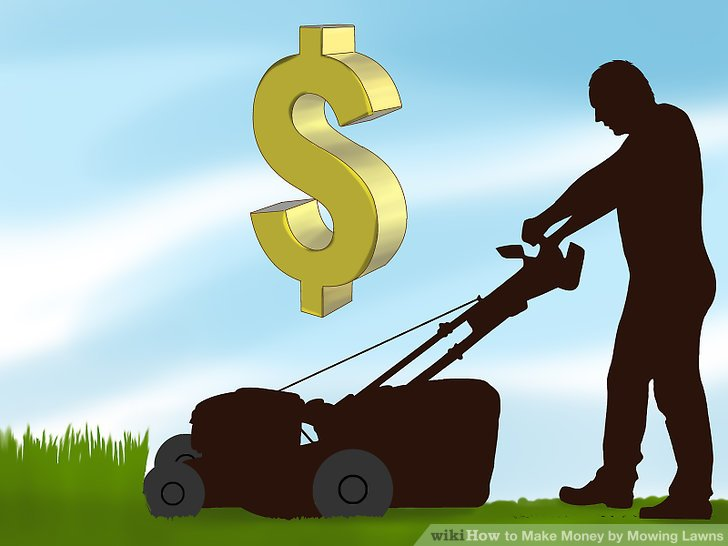 Starten Sie ein Rasenmähergeschäft.