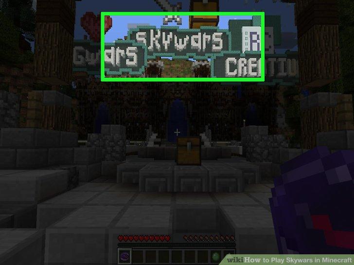 Wie Ist Es Gemacht Wie Zu Spielen In Minecraft Skywars - Minecraft im netz spielen