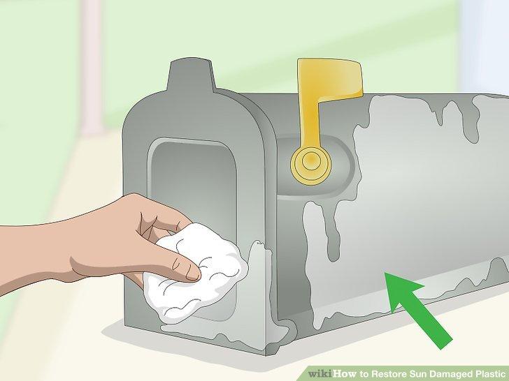 Wischen Sie den überschüssigen Conditioner nach dem Trocknen auf.