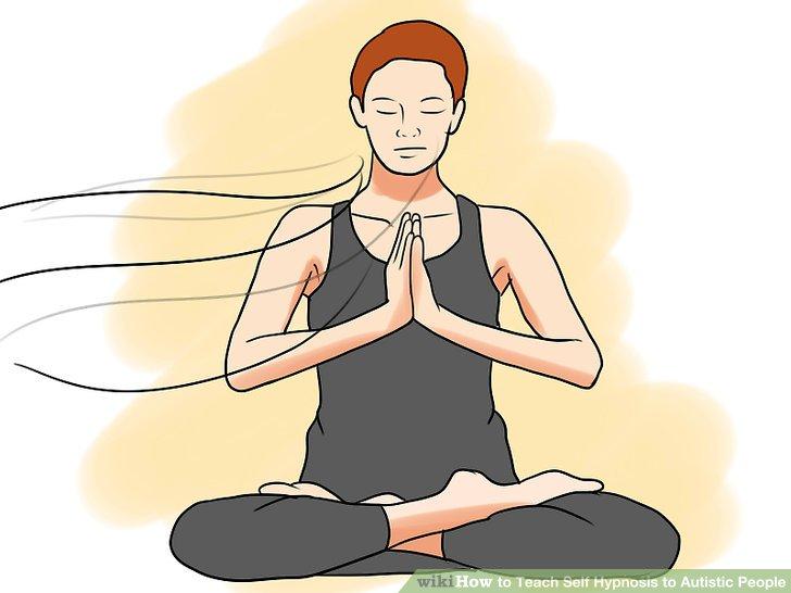Machen Sie zuerst die Entspannungs- und Atemübungen.