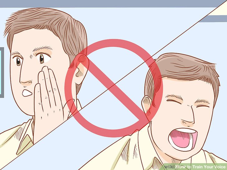 Avoid vocal extremes such as whispering and screaming.