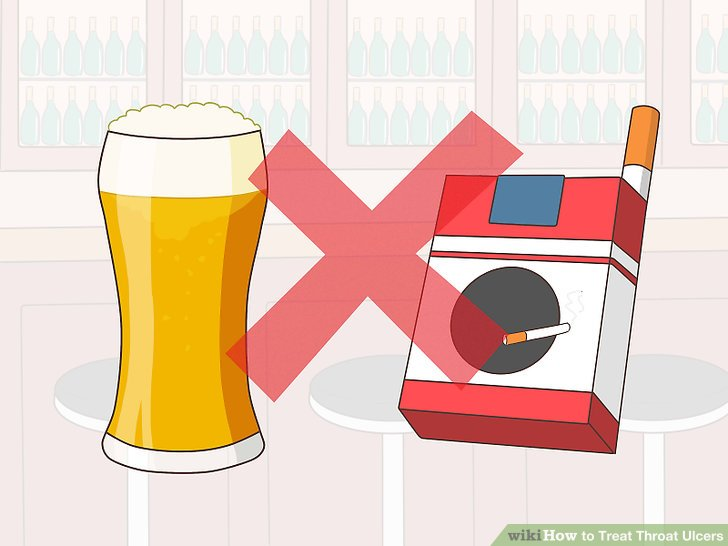 Avoid drinking alcohol or smoking.