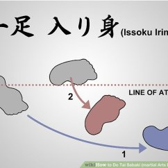 Martial Arts Diagram Vw Alternator Conversion Wiring How To Do Tai Sabaki Body Shifting 7 Steps Image Titled Step 2