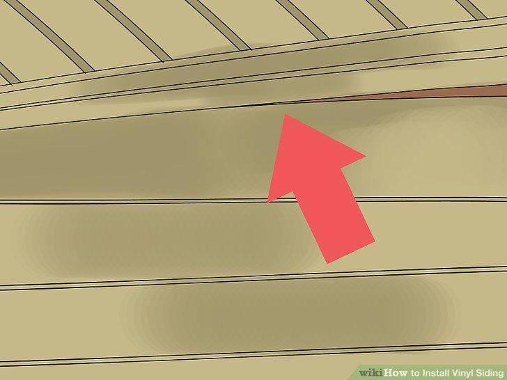 Installieren Sie die obere Abstellgleisreihe.
