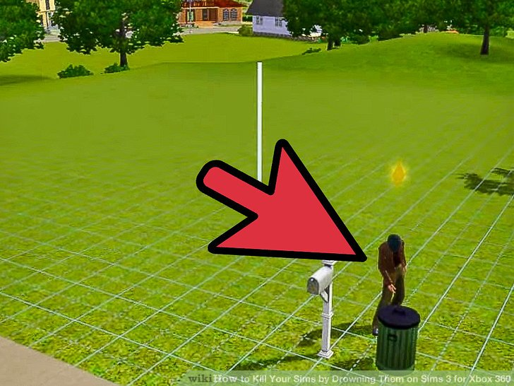 How To Kill Your Sims By Drowning Them On Sims 3 For Xbox 360