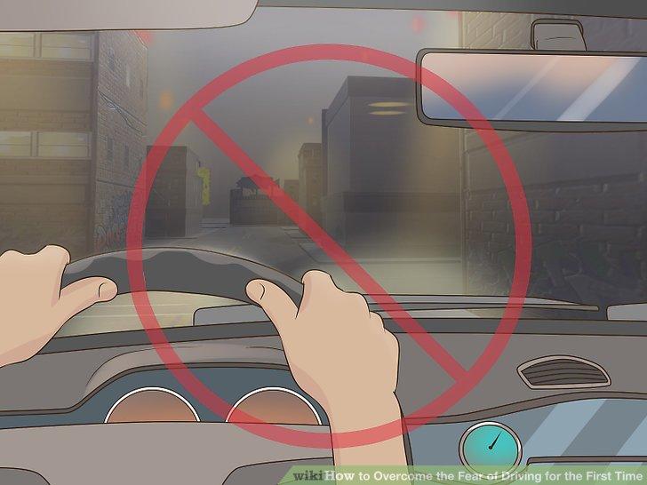 Fahren Sie nachts nicht.